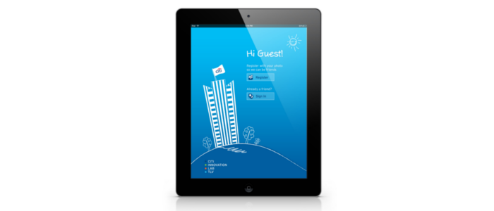 Welcome Tablet App Product Design